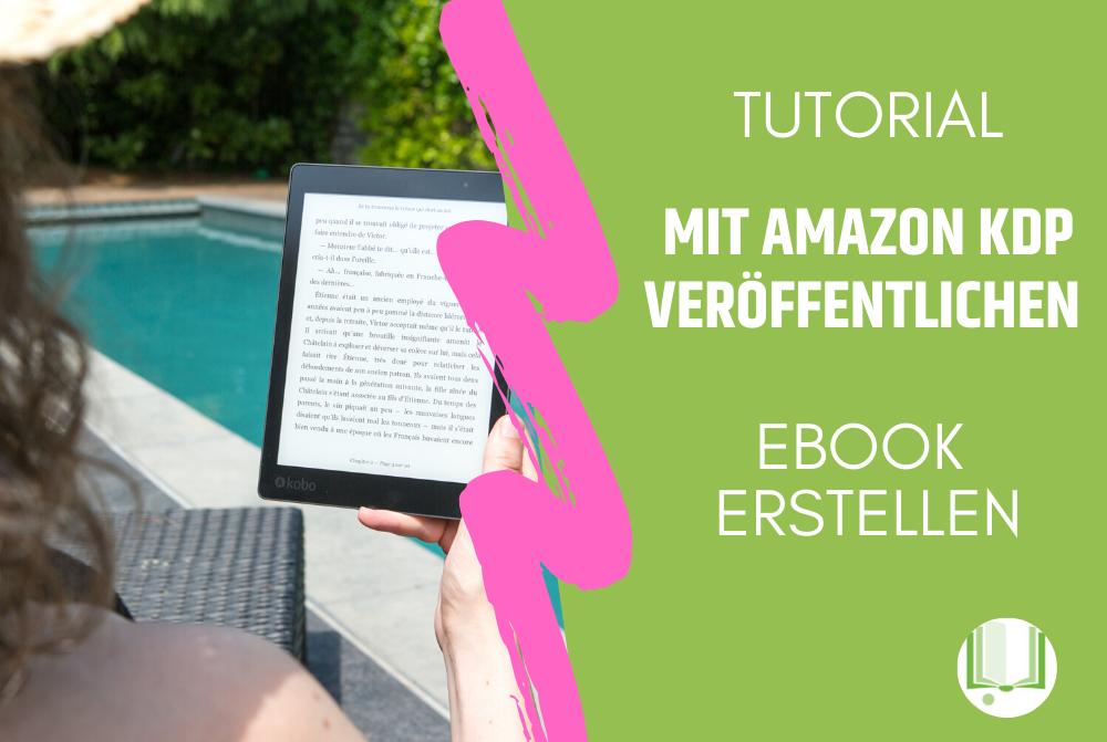 Amazon KDP-Ebook erstellen