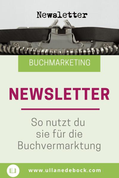 Newsletter für Buchvermarktung nutzen