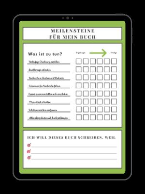 Projektplan Sachbuch Freebie